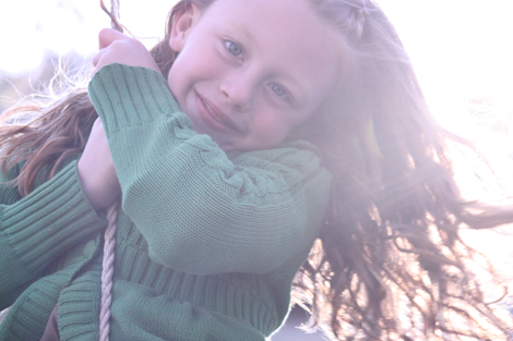 Caroline on the swing c