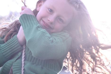 Caroline on the swing c