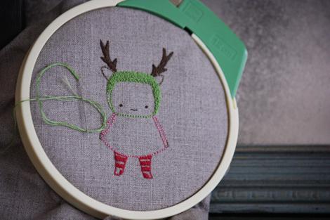 Reindeer girl aa