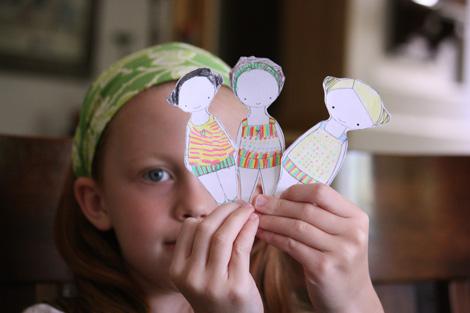 Paper doll c