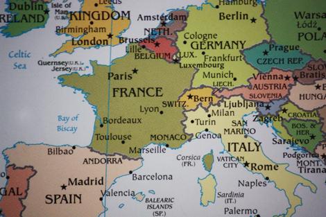 Map e