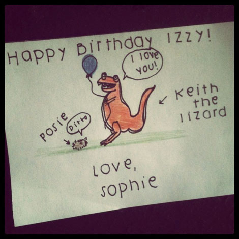 Hb izzy keith the lizard