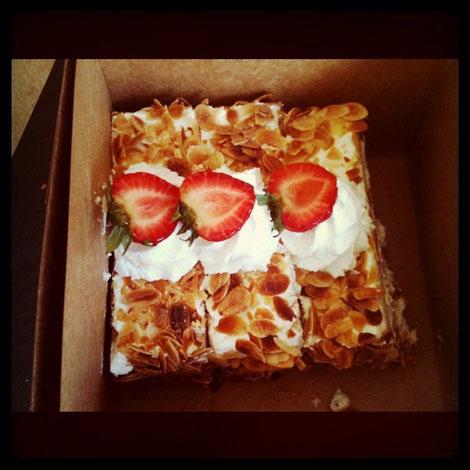 Happy pastry