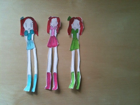 Paperjane dollies