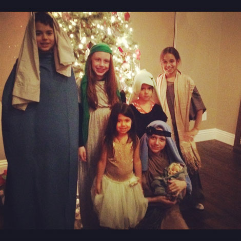Holiday nativity a