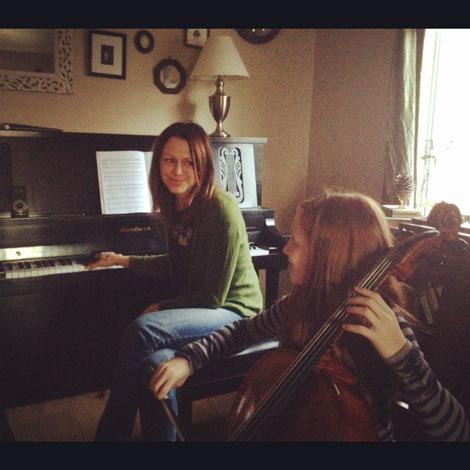 On task cello