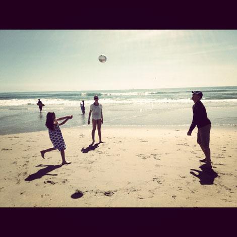 Beach vb