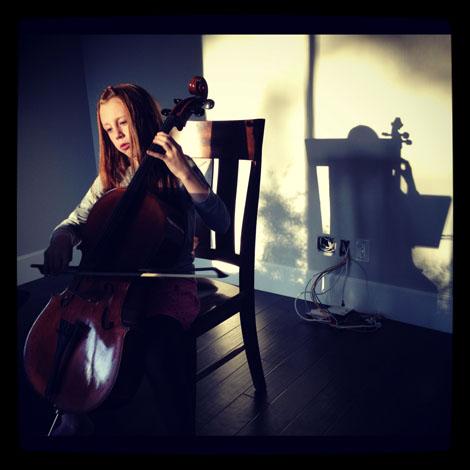 Sounds like home cello