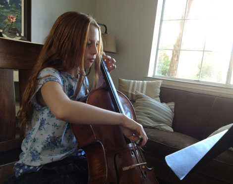Cello girl xo