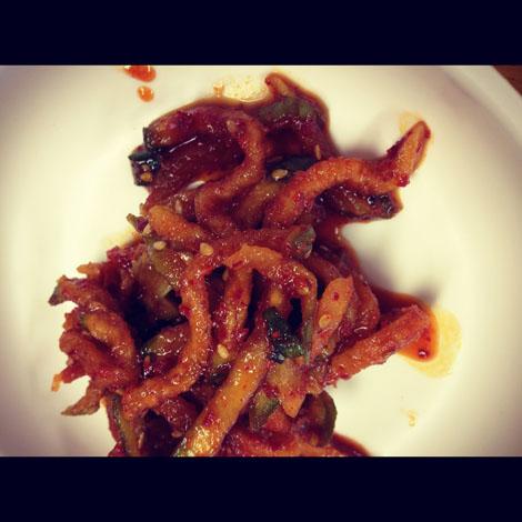 Island style kimchi