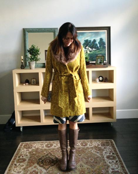 Smitten coat