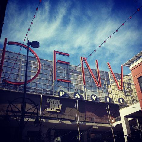 Denver sign