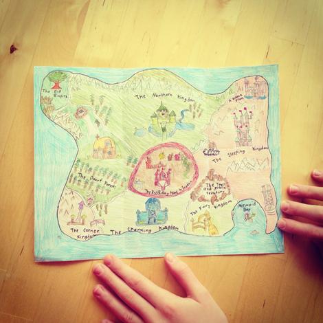 Caroline map