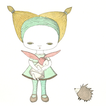 Hedgehog_girl